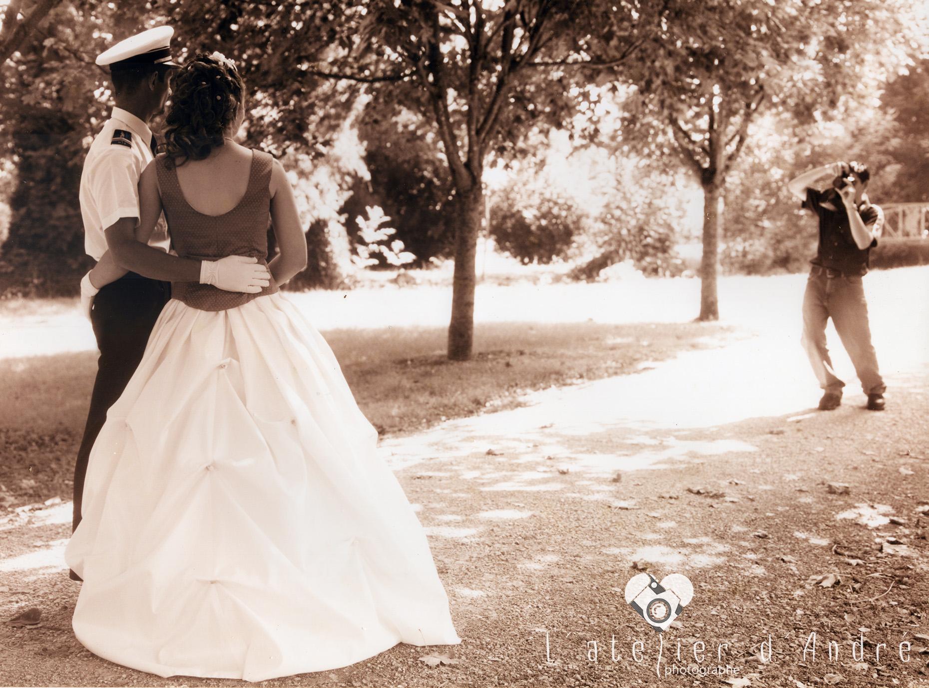 1 ere photo de mariage