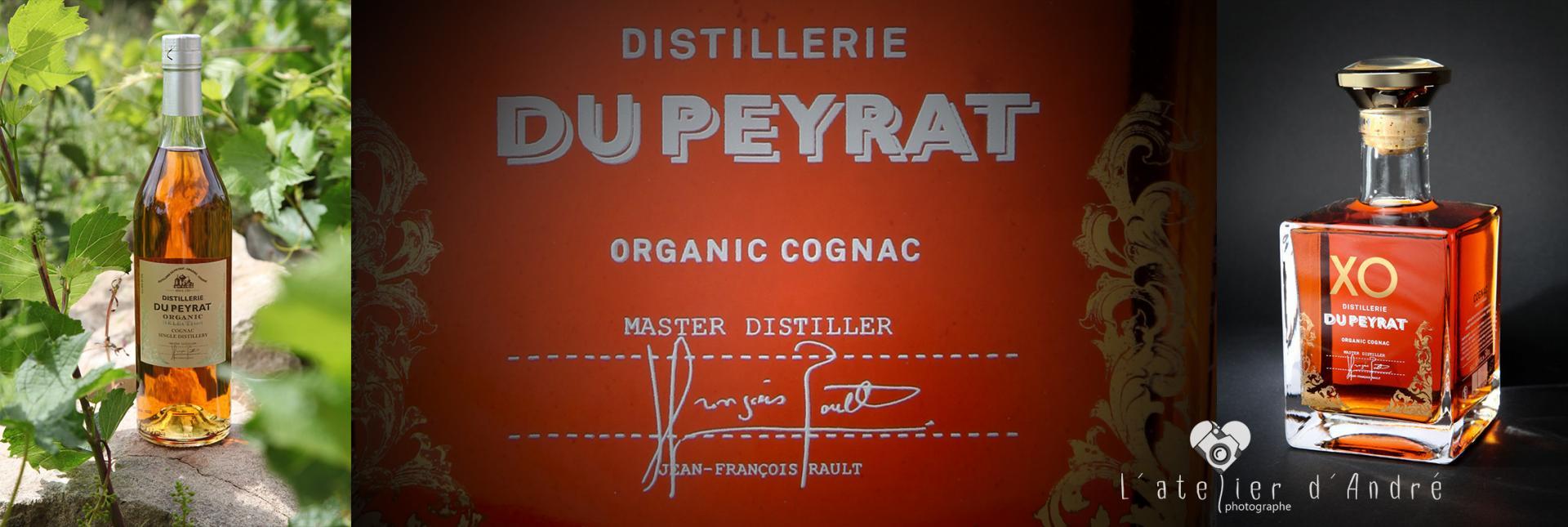 Bouteille de Cognac Distillerie du Peyrat