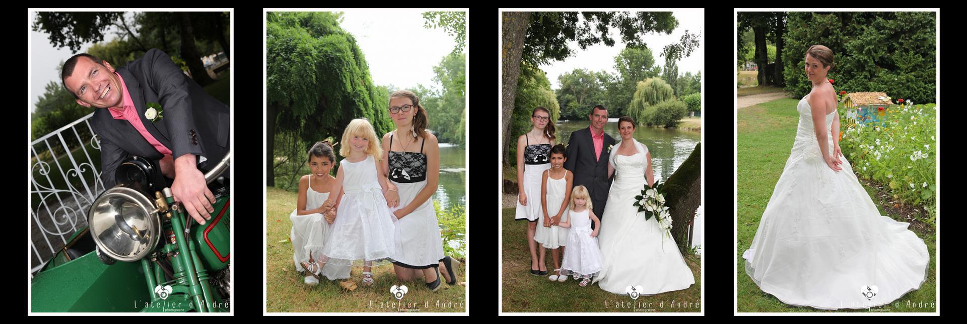 Mariage de Bénédicte et Ludovic le 08 Août 2015
