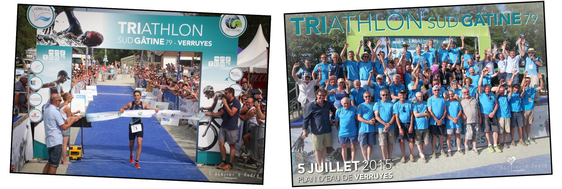Triathlon organisé par le TCG 79